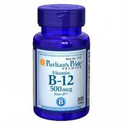 Puritan's Pride - Vitamina B-12 500mg I 100 comprimidos
