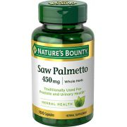 Saw Palmetto Natures Bounty 450mg - 100 caps