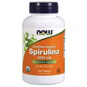 Spirulina Natural - NOW FOODS 1000mg (120 tabletes)
