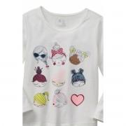 Camiseta GAP - Bonecas Glitter