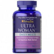 Ultra Woman - Multivitaminico -Puritan's Pride - (90 Comprimidos)
