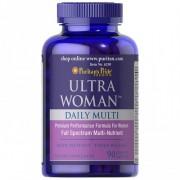 Ultra Woman - Multivitaminico -Puritan's Pride - (90 Comprimidos)