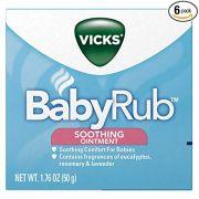Vicks BabyRub Pomada Relaxante (50g)