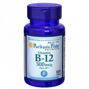 Vitamina B12 - Puritan's Pride - 500mg (100 Comprimidos)