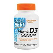 Vitamina D3 5000IU - DOCTOR´S BEST (180 softgels)