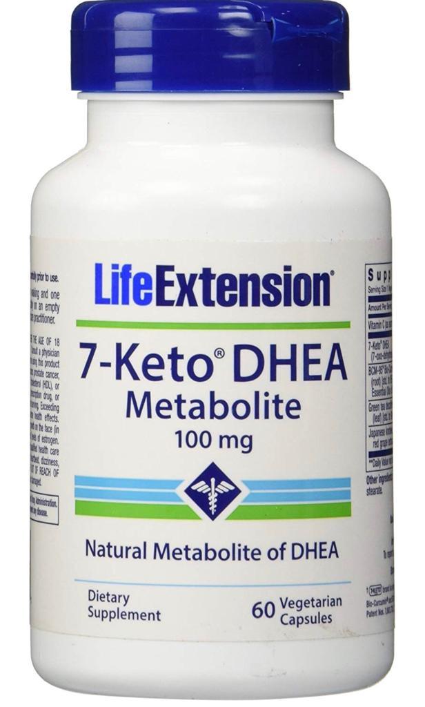 7 Keto 100 Mg - Life Extension (60 Cápsulas)