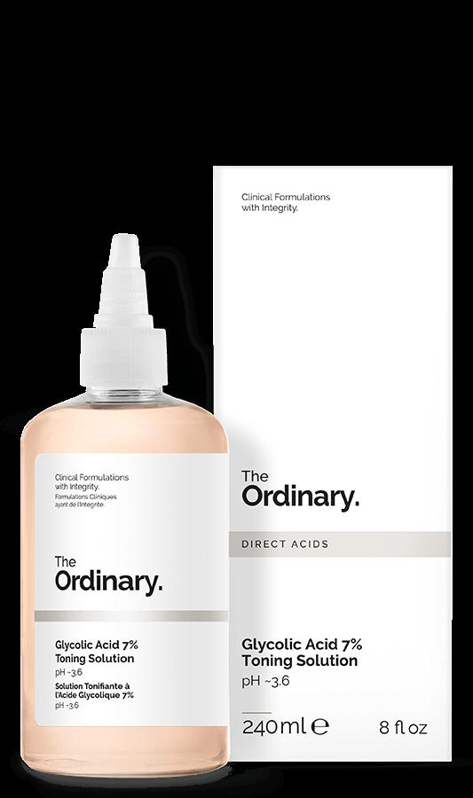 Ácido Glicólico - 7% Loção Tônica -The Ordinary (240ml)