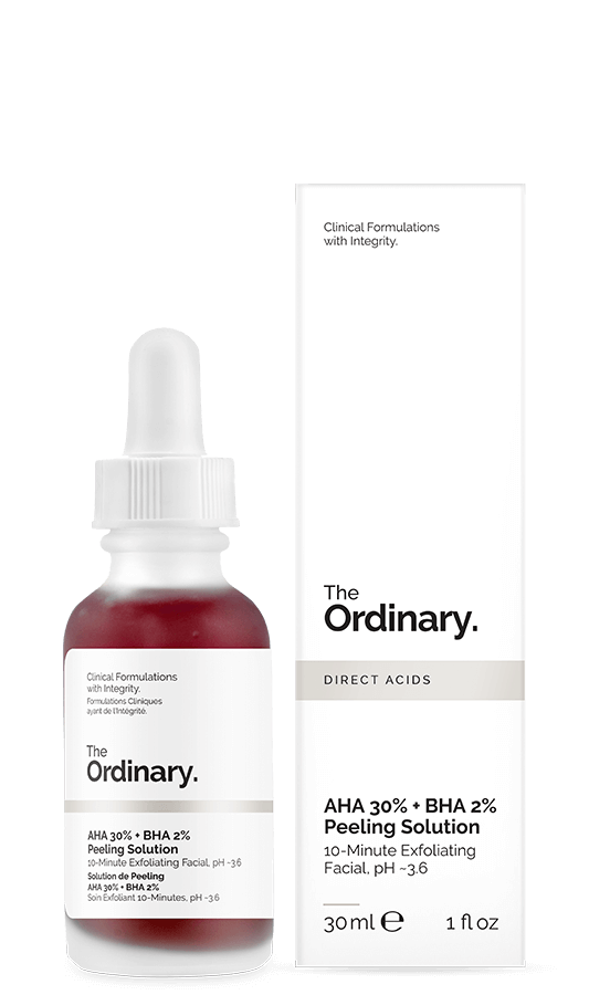 Aha 30% + Bha 2% Peeling -Esfoliação Profunda -The Ordinary (30ml)