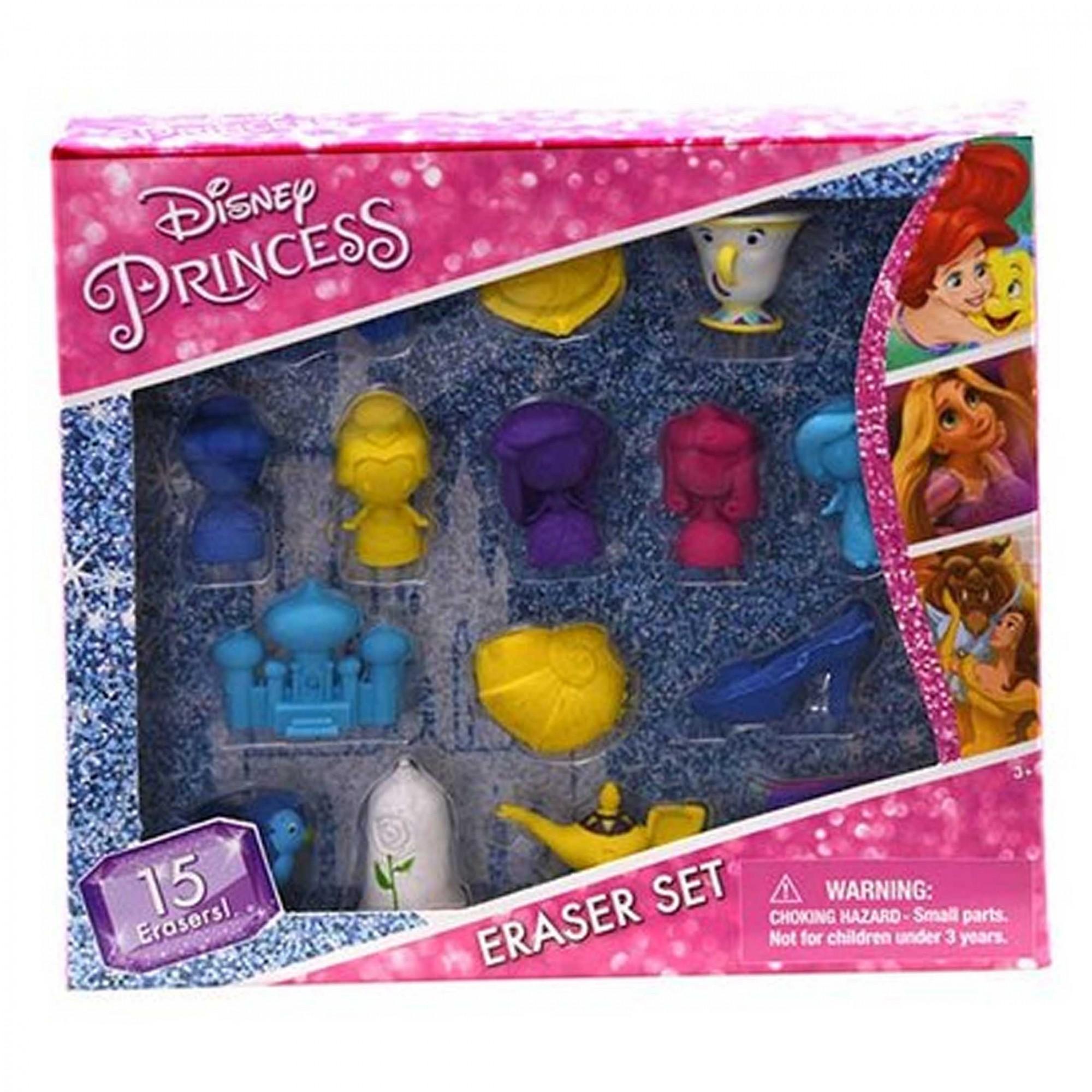 Borracha 3D - Princesas Disney I 15 peças