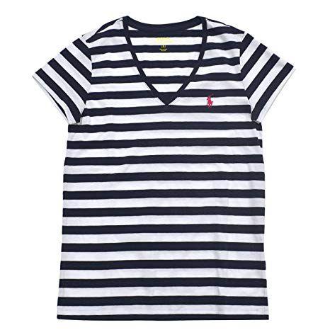 Camiseta Polo Ralph Lauren Gola V - Listrada cf539cb16aa