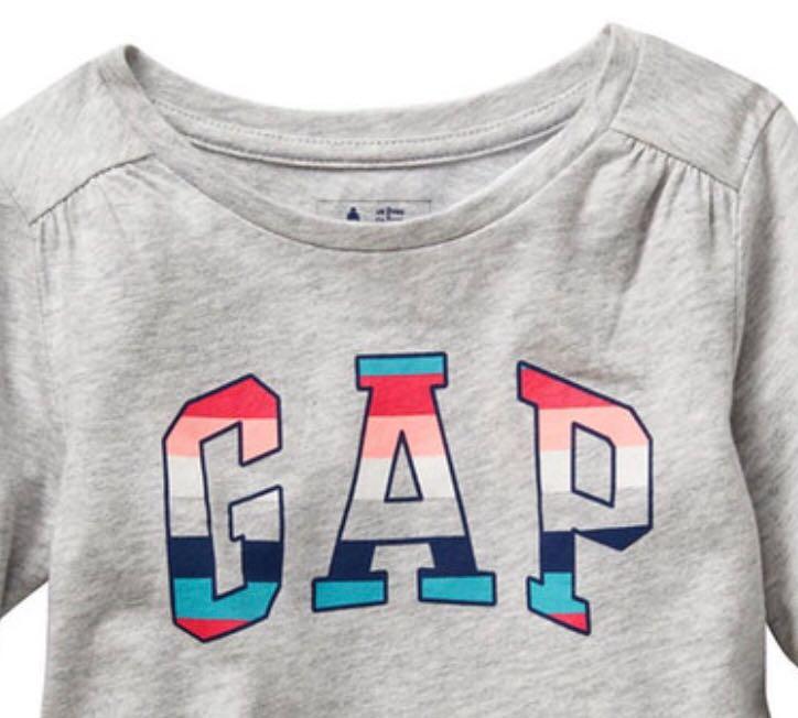Camiseta GAP Básica - Cinza