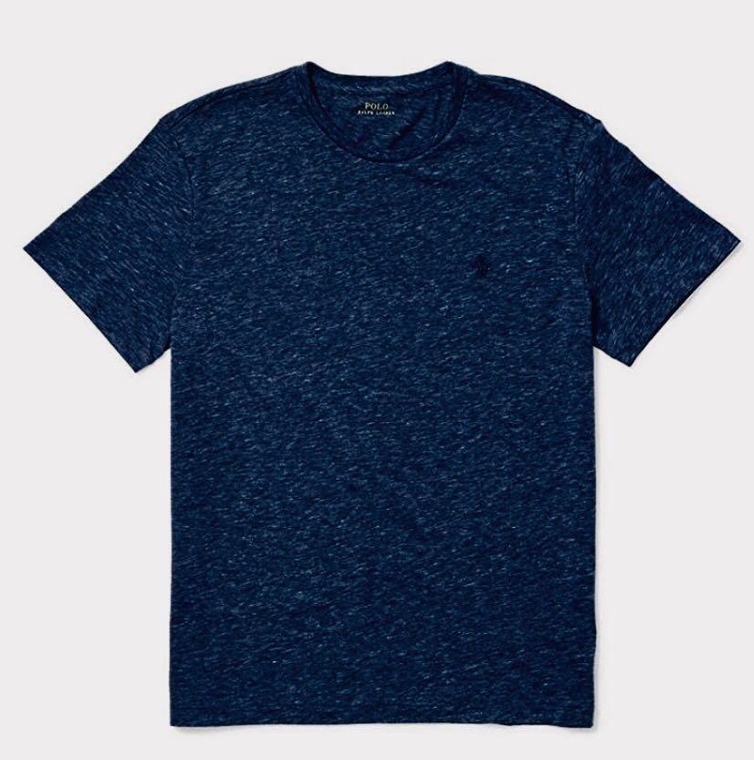 309330d17d Camiseta Polo Ralph Lauren Gola Redonda - Azul Eclipse - Delivery Mimos -  Importados ...