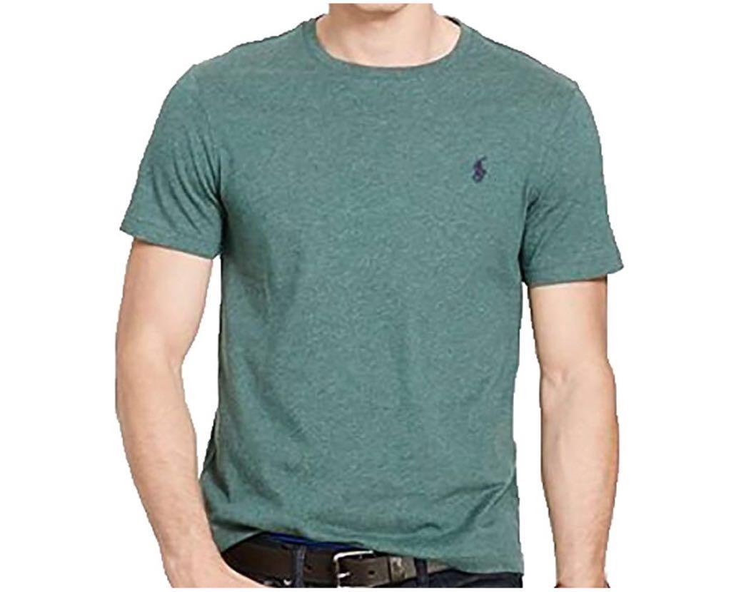Camiseta Polo Ralph Lauren Gola Redonda - Verde 82c8cfcd87982