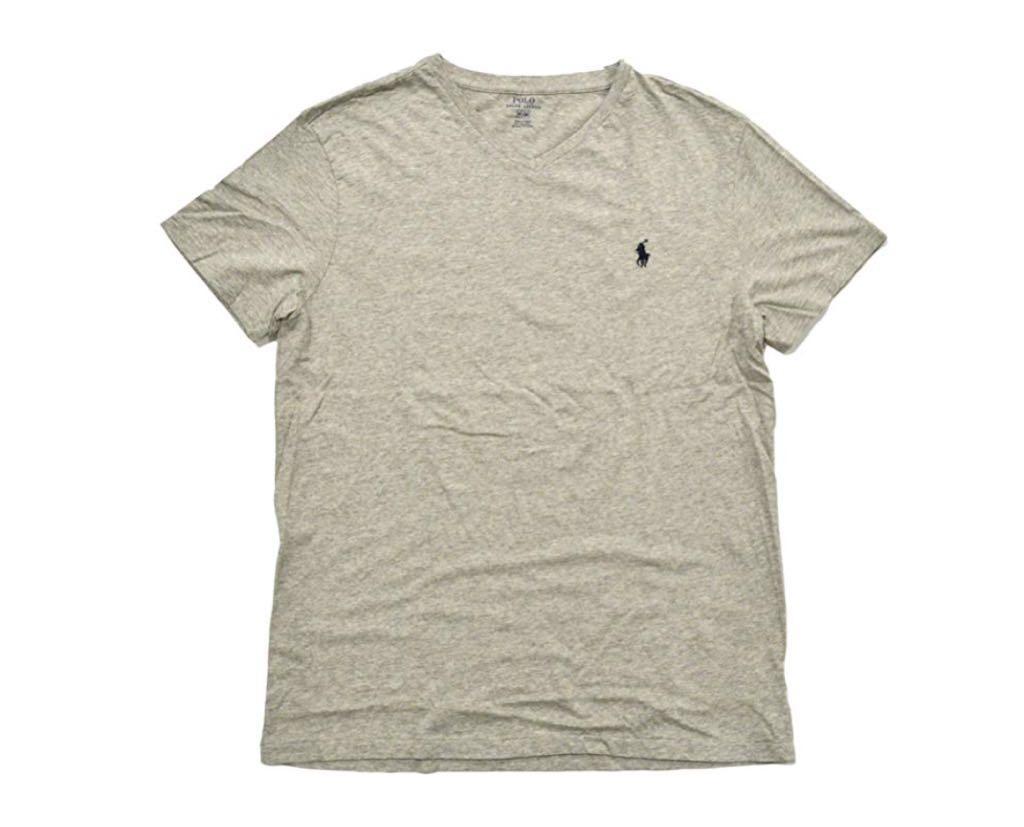 7454cbe065da7 Camiseta Polo Ralph Lauren Gola V - Areia