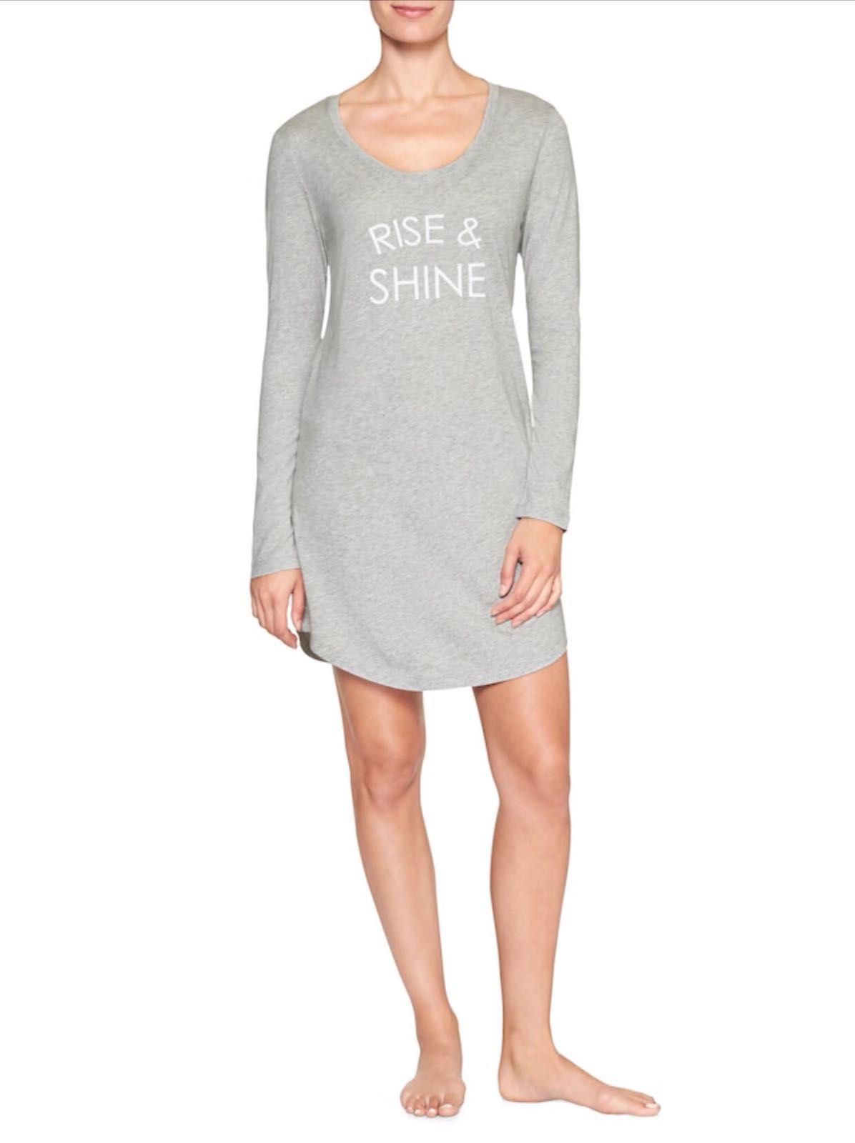 Camisola GAP Rise e Shine - Cinza