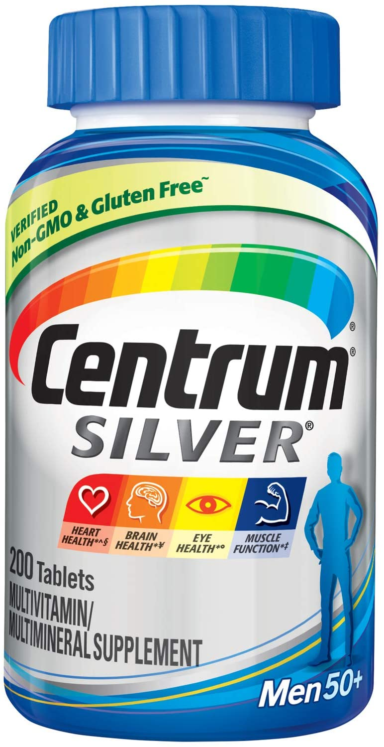 Centrum Silver Men +50 (250 Tabletes)