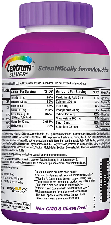 Centrum Silver Women +50 (200 Tabletes)