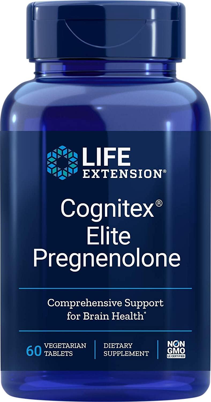 Cognitex Pregnenolone (Gastrodin) - Life Extension (60 cáps)