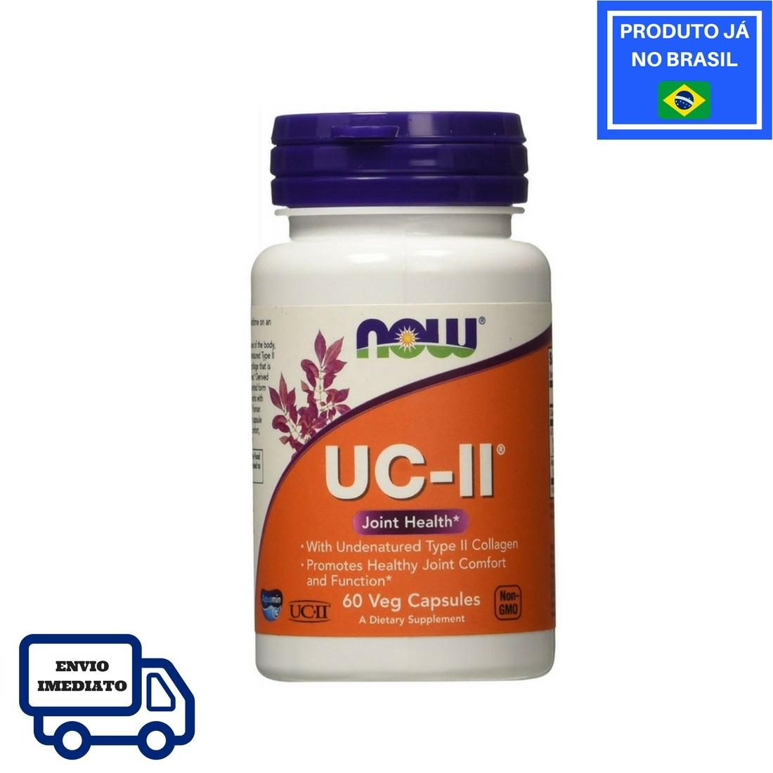 Colágeno - UC-II - NOW (60 Cápsulas)