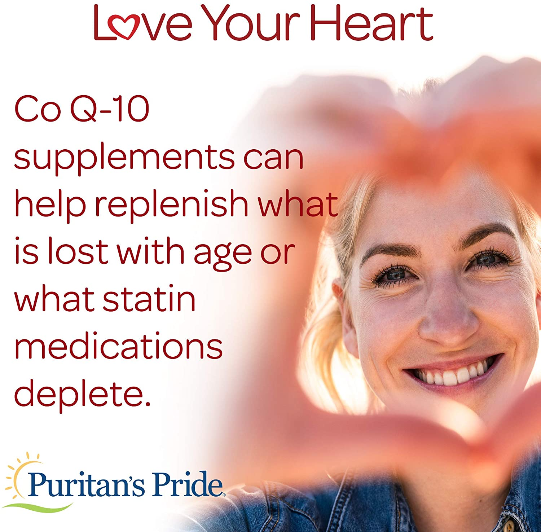 Coq10 - Puritan's Pride - 200mg (120 Cápsulas)