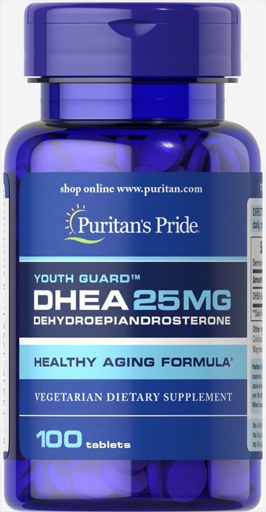 DHEA - Puritan's Pride - 25mg (100 Cápsulas)