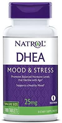 DHEA - Natrol - 25mg (180 Tabletes)