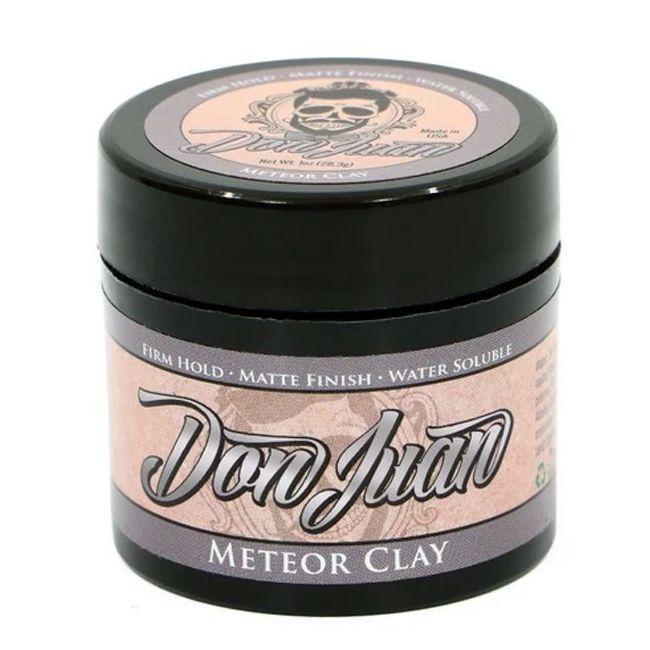 Don Juan Meteor Clay - Pomada para Cabelo Masculino Efeito Fosco - 113g