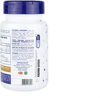 Fosfoetanolamina Phospho Plus da Life (90 Cápsulas)