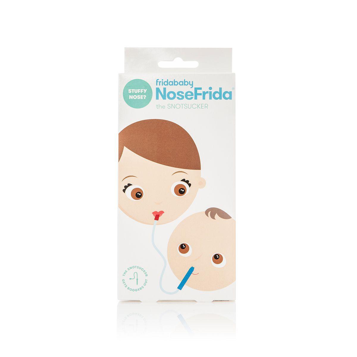NoseFrida Aspirador Nasal Com 20 Extra Higiene Filtros