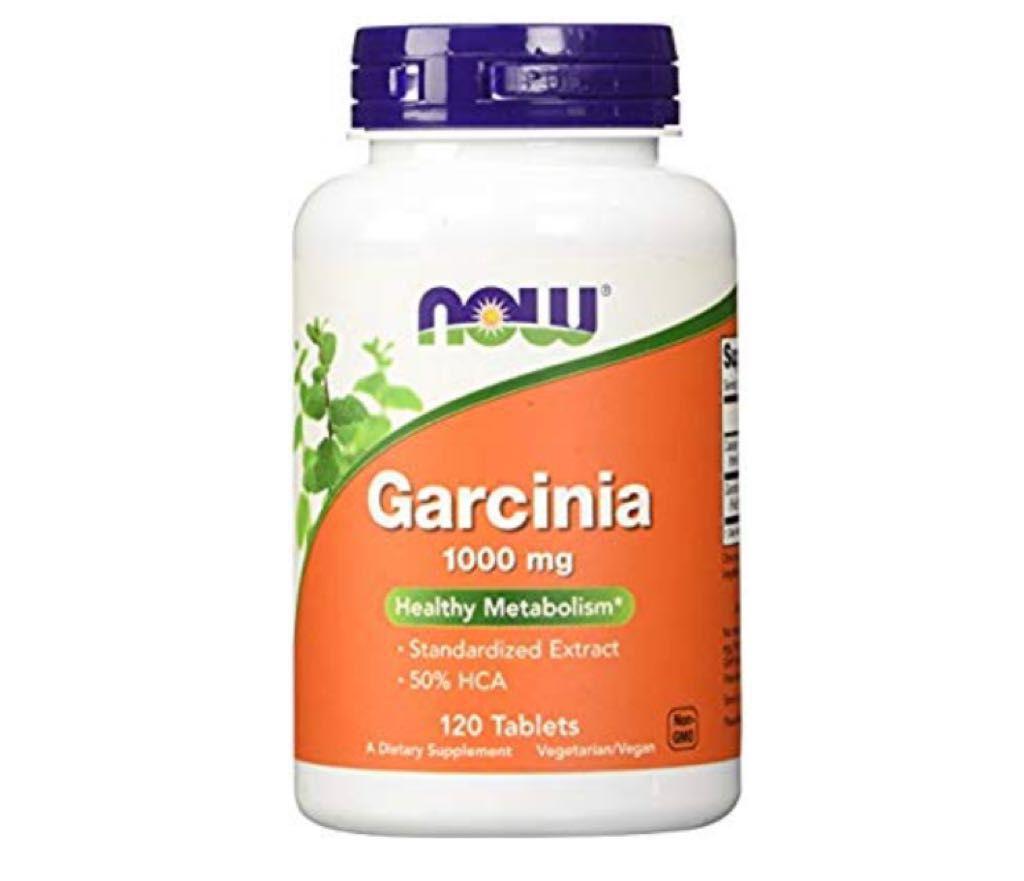 Garcínia Cambogia - NOW - Inibidor De Apetite 1000mg (120 Tabletes)