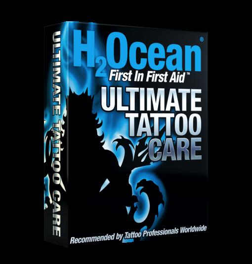 H2ocean Kit Ultimate Tattoo Care (Cuidado final da tatuagem)