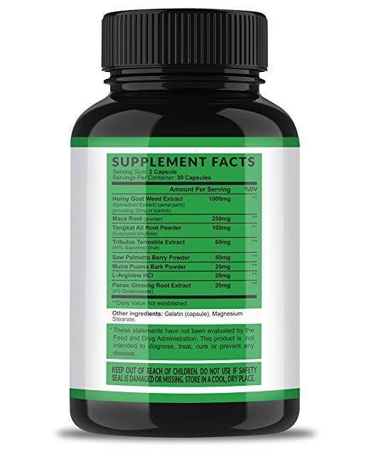 Horny Goat Weed Energia para Homens e Mulheres - Havasu - (60 tabletes)