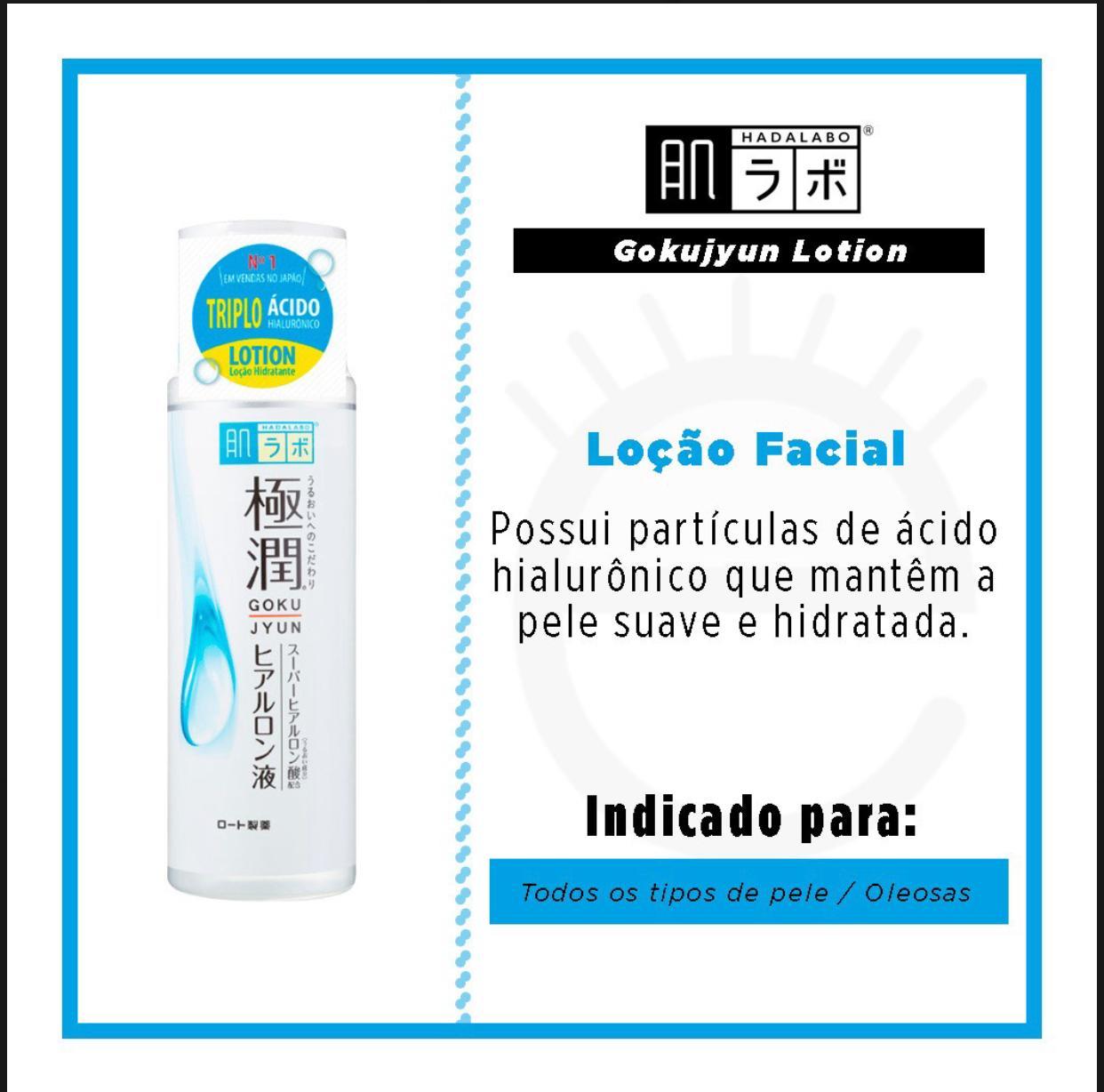 Loção Facial Hada Labo - Gokujyun (170ml)