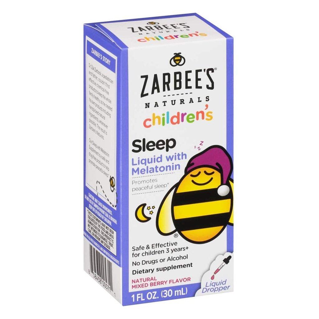 Melatonina Líquida Infantil Zarbee's Sleep 30 ml