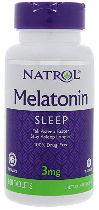 Melatonina Natrol - Time Release 3mg (100 Cápsulas)