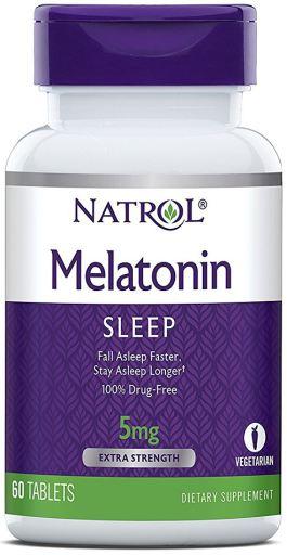 Melatonina Natrol - Time Release 5mg (60 Cápsulas)