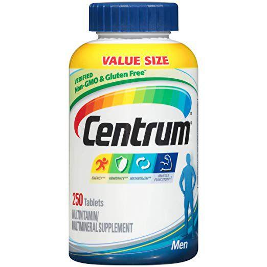 Multivitamínico Centrum Homem 250 Comprimidos