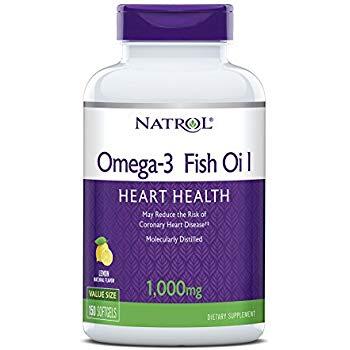 Natrol Omega-3 Limao - 1000 Mg - 150 caps