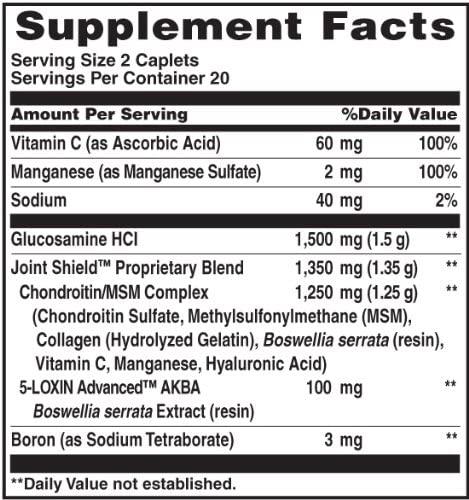Osteo Bi-Flex - Força Tripla Glucosamina + Condroitina + Msm (40 Comprimidos)