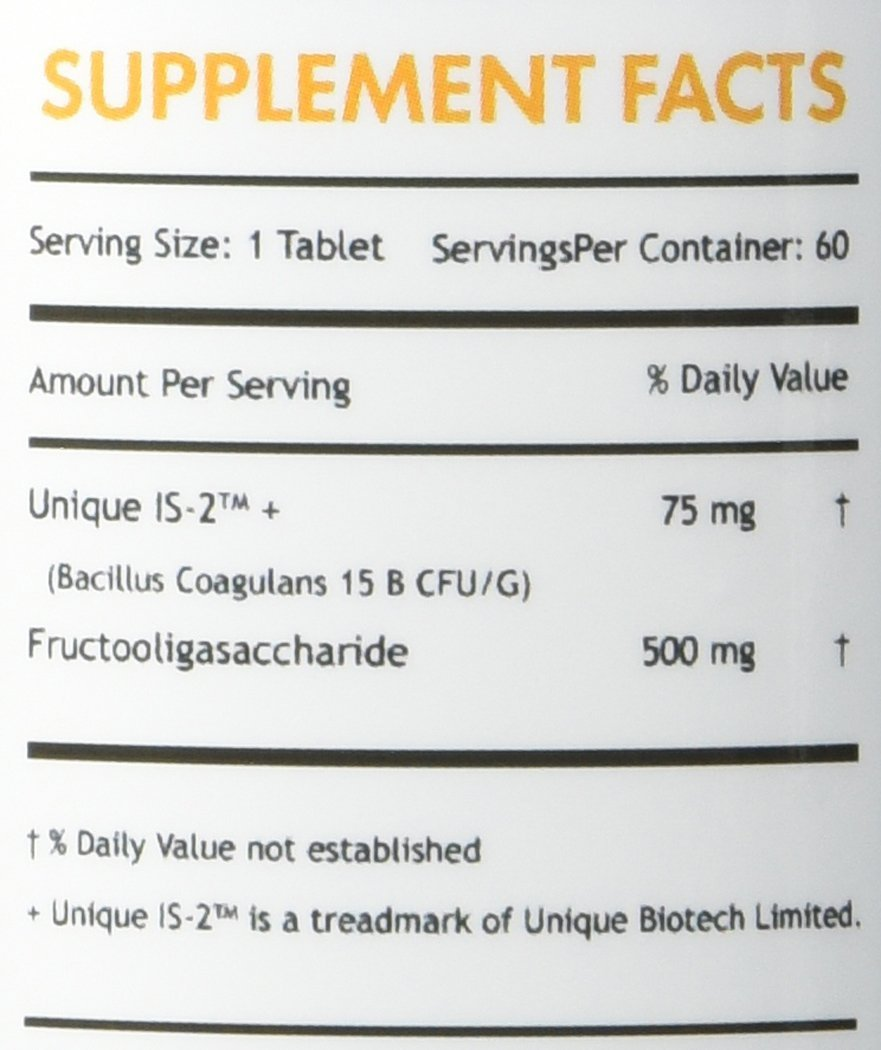 Probiótico - NUTRITION ESSENTIALS (60 tabletes)