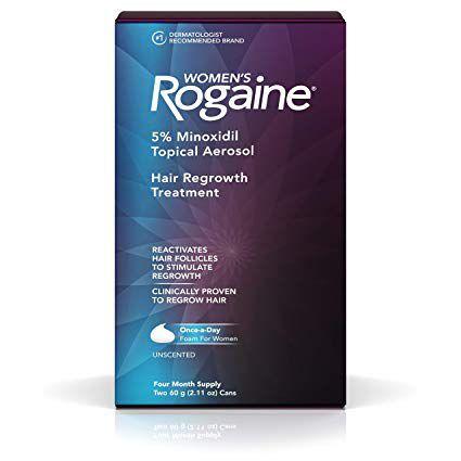 Rogaine Foam - Minoxidil em Espuma 5% (Tratamento para 4 meses)