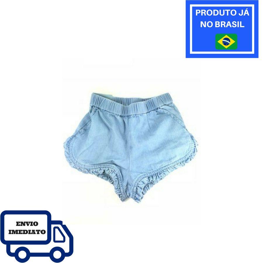 Short GAP - Jeans Com Babado