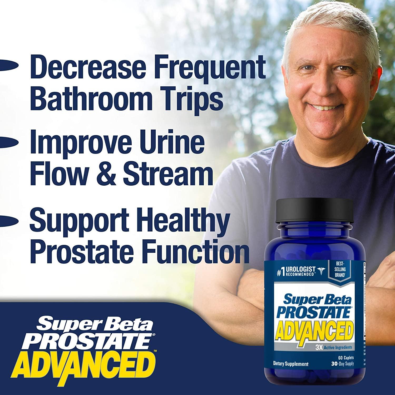 Super Beta Prostate Advanced - New Vitality (60 Comprimidos)