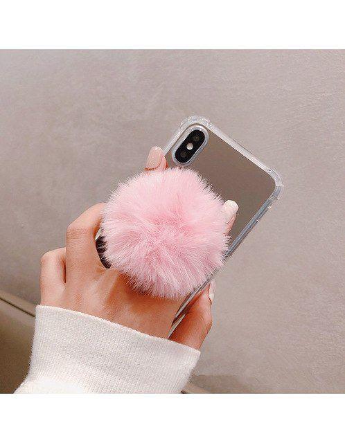 Suporte Dedo Celular Popi Socket Pop 3D - Rosa
