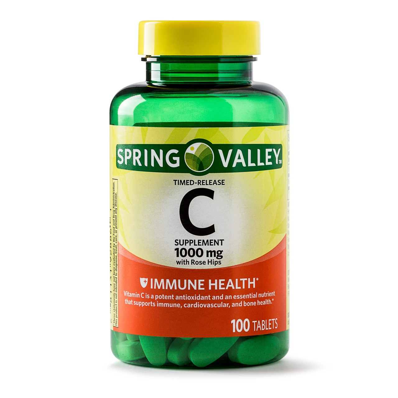 Vitamina C - Spring Valley -1000mg (100 Comprimidos)