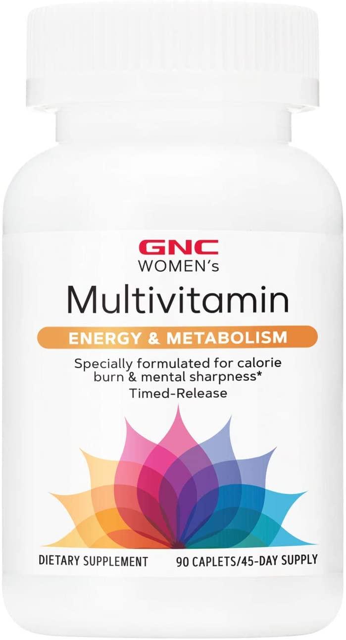 Women's Multivitamínico - GNC - Energia e Metabolismo (90 Cápsulas)