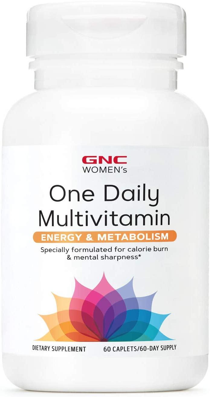 Women's One Daily Multivitamínico - GNC (60 Cápsulas)