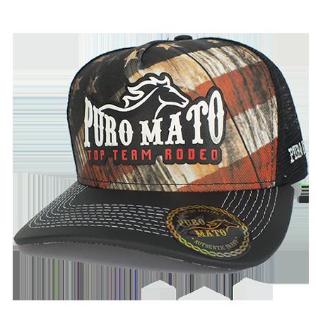 fdec8971618ea Boné Top Team Rodeo - Puro Mato - A loja mais bruta do Brasil ...