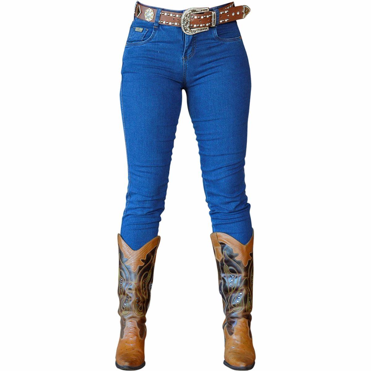 Calça Jeans Cigarrete Country Feminina - Puro Mato - A loja mais bruta do  Brasil ... bbf801ea89e