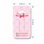 Tag para Laços Personalizada - 4,8x8,8 cm